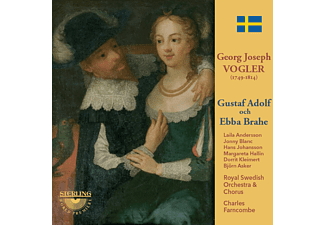 Andersson, Blanc, Farncombe, Royal Swedish Orchestra - Gustaf Adolf och Ebba Brahe  - (CD)