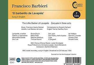 BBC Chorus, Royal Philharmonic Orchester - El barberillo de Lavapies  - (CD)