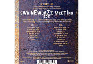 Martins,Pedro/Artadi,Genevieve/Binney,David/+ - Spider's Egg-SWR New Jazz Meeting 2017  - (CD)