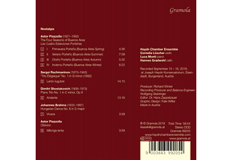 Haydn Chamber Ensemble - Nostalgia  - (CD)