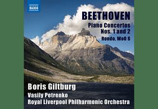 Royal Liverpool Po, Petrenko, Giltburg - Klavierkonzerte 1 & 2  - (CD)