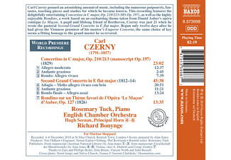 English Chamber Orchestra, Bonynge - Second Grand Concerto in E flat major  - (CD)