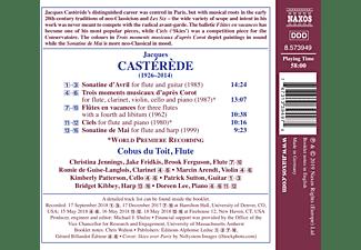 Christina Jennigs, Cobus Du Toit - Sämtliche Werke für Flöte,Vol.1  - (CD)