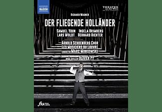 Brimberg/Solvang/Minkowski/Les Musiciens du Louvre - Der fliegende Holländer [Blu-ray]  - (Blu-ray)