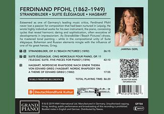 Jamina Gerl - Pfohl: Strandbilder,Suite  élégiaque,Hagbart  - (CD)