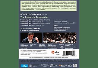 Staatskapelle Dresden, Thielemann Christian - Schumann: Sämtliche Sinfonien [Blu-ray]  - (Blu-ray)