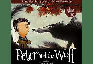 Read By Leonard Bernstein - PETER AND THE WOLF  - (Vinyl)