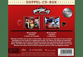 Miraculous - Miraculous-Hörspiel-Doppel-Box-Folgen 15+16  - (CD)