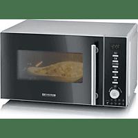 SEVERIN Mikrowelle mit Grill- & Heißluftfunktion 3in1
