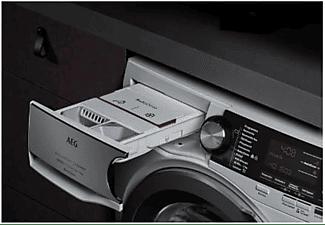 Lavadora carga frontal - AEG L8FEC962Q, Autodosificación, 9 kg, 1600 rpm, Wi-fi, Blanco