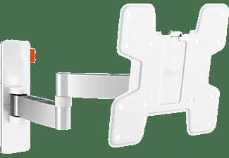 VOGEL´S WALL 3145 TV-Wandhalterung für 48-102 cm (19-40 Zoll) Fernseher, drehbar und neigbar Wandhalterung, max. 40 Zoll, Schwenkbar, Neigbar, Weiß