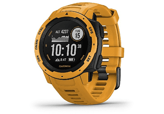 Smartwatch - Garmin Instinct 010-02064-03, 45 mm, GPS, Bluetooth, ANT+, 10 ATM, Amarillo