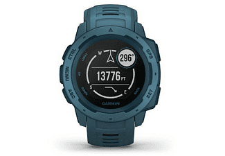 Reloj deportivo - Garmin Instinct 010-02064-04, 45 mm, GPS, Bluetooth, ANT+, 10 ATM, Azul
