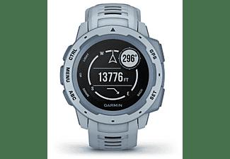 Reloj deportivo - Garmin Instinct 010-02064-05, 45 mm, GPS, Bluetooth, ANT+, 10 ATM, Azul celeste