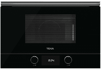 Microondas integrable - TEKA ML 8220 BIS L WH, 2500 W, 22 l, Grill, Encastrable, Negro