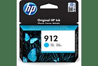 Cartucho de tinta - HP 912, Cian, 3YL77AE