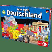 NORIS Quer durch Deutschland Lernspiel, Mehrfarbig
