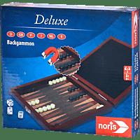 NORIS Deluxe Reisespiel Backgammon Spieleklassiker