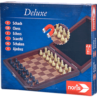 NORIS Deluxe Reisepiel Schach Spieleklassiker