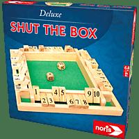 NORIS Deluxe Shut the Box Spieleklassiker, Mehrfarbig