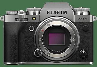 FUJIFILM Systemkamera X-T4 Gehäuse, silber (16650601)