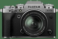 FUJIFILM X-T4 Kit Systemkamera mit Objektiv 18-55 mm, 7,6 cm Display Touchscreen, WLAN