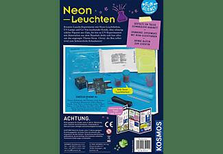 KOSMOS Fun Science Neon-Leuchten Experimentierkasten, Mehrfarbig