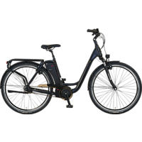 PROPHETE GENIESSER 20 ETC 10 CITY Citybike (28 Zoll, 49 cm, Wave, 522 Wh, Schwarz)