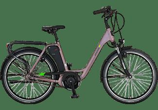 PROPHETE GENIESSER 20.EMC.10 Citybike (Laufradgröße: 26 Zoll, Rahmenhöhe: 49 cm, Damen-Rad, 417.5 Wh, Grau)