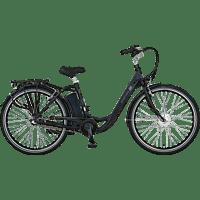 PROPHETE GENIESSER 20.ESC.30 Citybike (28 Zoll, 48 cm, Wave, 374.5 Wh, Schwarz)