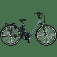 PROPHETE GENIESSER 20.EMC.20 Citybike (28 Zoll, 48 cm, Wave, 374.5 Wh, Silber)