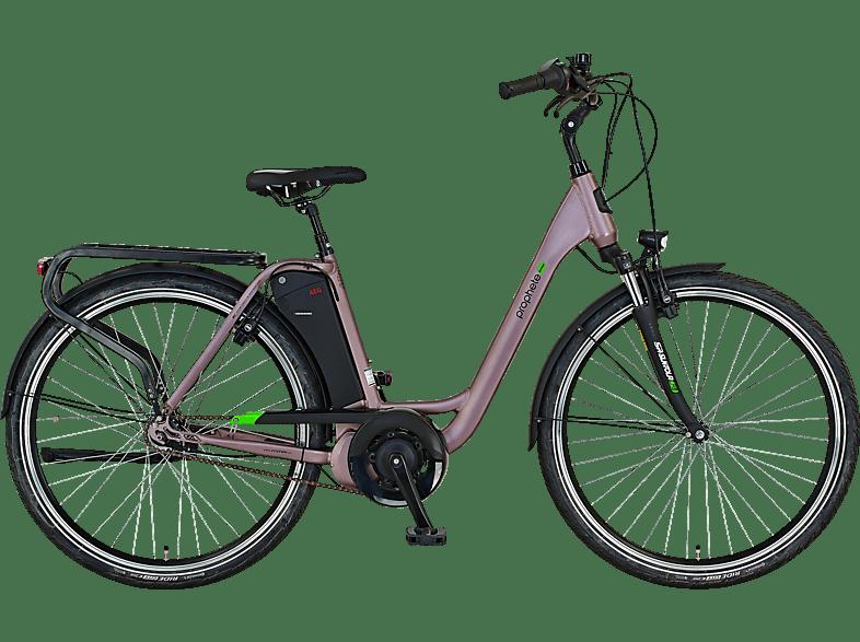 PROPHETE GENIESSER 20.EMC.10 Citybike Laufradgrösse 28 Zoll, Rahmenhöhe 49 cm, Damen-Rad, 417.5 Wh, Grau