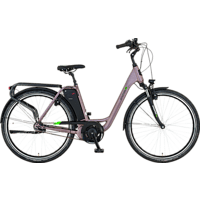 PROPHETE GENIESSER 20.EMC.10 Citybike (28 Zoll, 49 cm, Wave, 417.5 Wh, Grau)