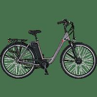 PROPHETE GENIESSER 20.EMC.30 Citybike (28 Zoll, 49 cm, Wave, 417.5 Wh, Grau)