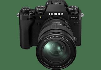 FUJIFILM Systemkamera X-T4 schwarz mit Objektiv XF 16-80mm f4.0 R OIS WR (16651136)