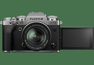 FUJIFILM Systemkamera X-T4 silber mit Objektiv XF 18-55mm f2.8-4.0 R LM OIS (16650883)