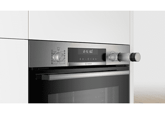 Horno Vapor Combinado 60Cm - Bosch HRA5380S1, 3600 W, 50; 60 Hz, A, Acero inoxidable