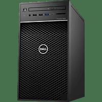 DELL - B2B Precision 3630, Desktop PC, Core™ i7 Prozessor, 16 GB RAM, 512 GB SSD, Quadro P2200, Schwarz