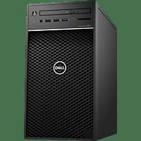 DELL - B2B Precision 3630, Desktop PC, Core™ i7 Prozessor, 8 GB RAM, 256 GB SSD, Intel® UHD Grafik 630, Schwarz