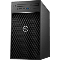 DELL - B2B Precision 3630, Desktop PC, Core™ i5 Prozessor, 8 GB RAM, 256 GB SSD, Radeon PRO WX 2100, Schwarz