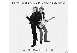 JAMES,FRED/ BRANDON,MARY-ANN - We Belong Together  - (CD)