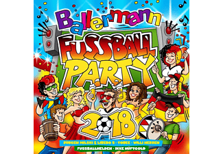VARIOUS - Ballermann Fußball Party 2018  - (CD)