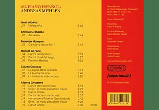 Andreas Mühlen - El Piano Espanol  - (CD)