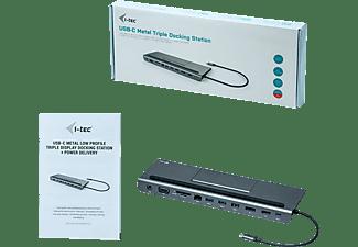 I-TEC C31FLATDOCKPDPLUS Dockingstation, Grau