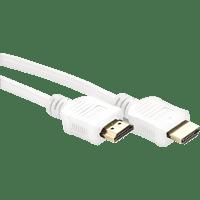 BIGBEN 4K-fähiges Konsolen und Bildschirme , HDMI-Kabel, Weiß