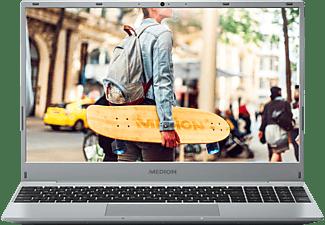 MEDION AKOYA® E15301 (MD61773), Notebook mit 15,6 Zoll Display, AMD Ryzen™ 7 Prozessor, 8 GB RAM, 512 GB SSD, Radeon™ RX Vega 10 Grafik, Titan Grey