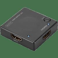DIGITUS DS-45302, Video-Switcher, Schwarz