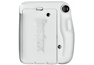 Cámara instantánea - Fujifilm Fuji Instax Mini 11 Wh, 62 x 46 mm, Flash, Blanco