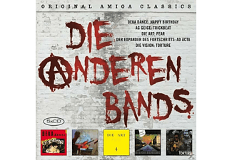 VARIOUS - Die Anderen Bands (Post-Punk der 80er-Jahre)  - (CD)