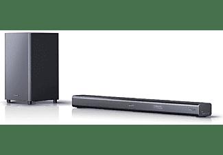 Barra de sonido - Sharp HT-SBW460, Subwoofer, 3.1, Envolvente Virtual 3D, Bluetooth, 4K, HDMI, 440W, ARC/CEC